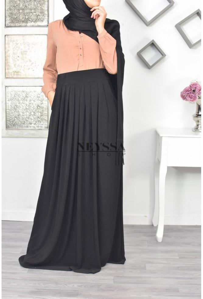 jupe longue femme musulmane pas cher