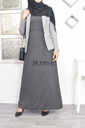 robe sans manches hijabi