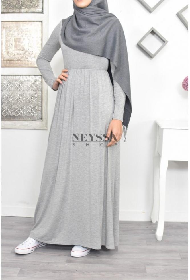 70bf022daeb robe longue pour femme voilée robe longue classique pas cher islamique