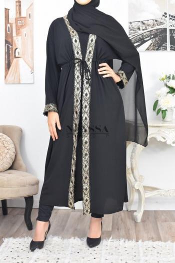 Kimono crêpe Modesty