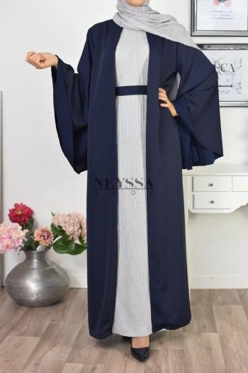 402bb9d10fb Robe longue Abaya mastour pas chèr
