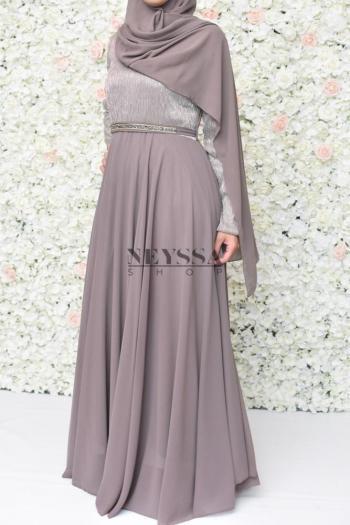 maxi hijab en mousseline 2 mètres