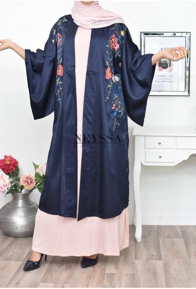 Kimono Borderie Bella