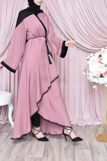 Kimono Dubaï cache coeur Event Pink