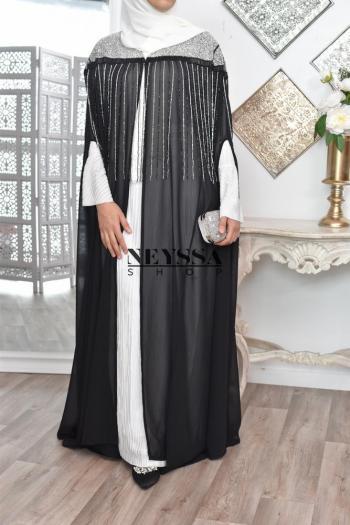 Abaya Dubaï cache coeur Event