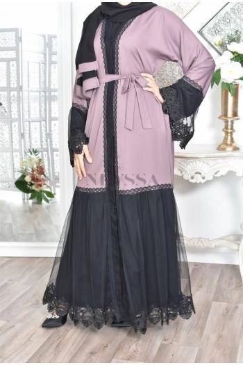 Abaya Dubaï lawrah