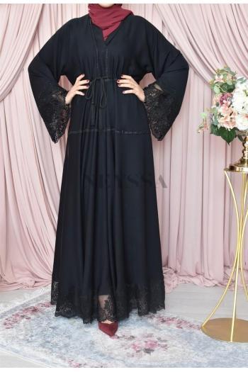 Kimono Dubaï kahina black
