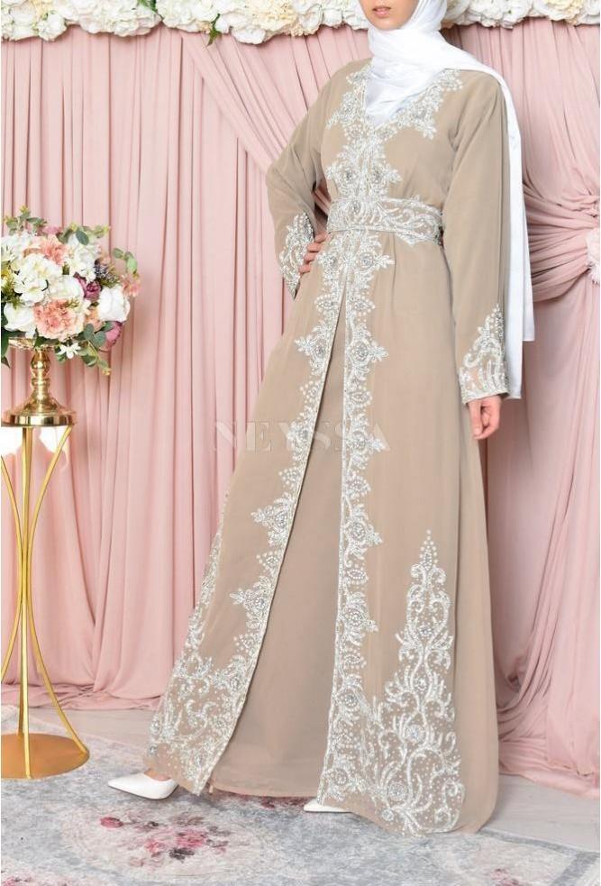 Abaya de soirée musulmane
