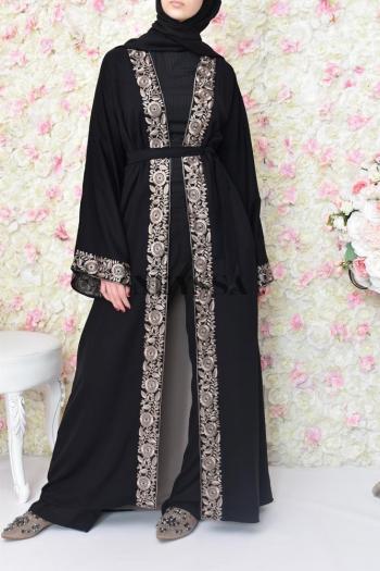 Abaya Dubai kimono pas cher