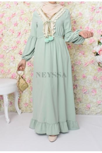 Robe Ethnic Basma Green
