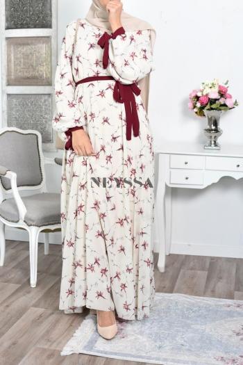 Robe fleurie Wafae