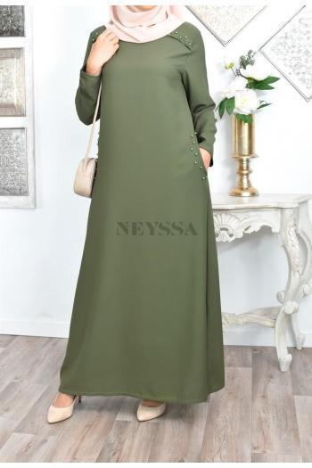 Abaya Perles Jinane
