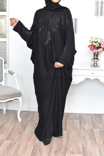 Abaya Dubaï Farasha Loubna size plus