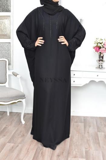 Abaya Dubaï size plus Malaïk