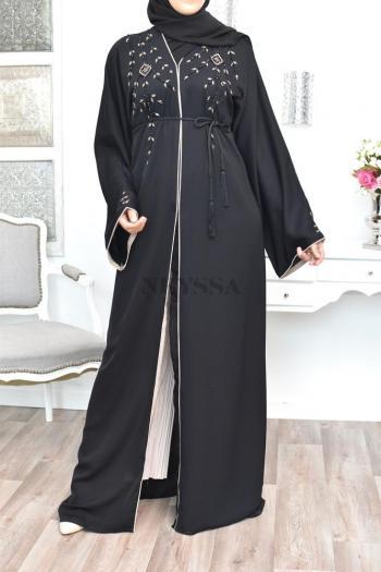 Abaya Dubaï brodée Romayssa