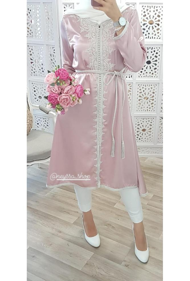 Tunic El Hoceima light pink Neyssa Disign
