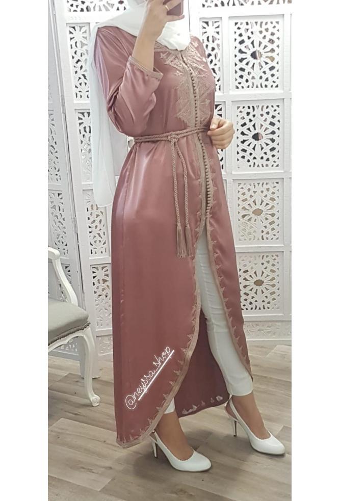 Kimono Casablanca ambre