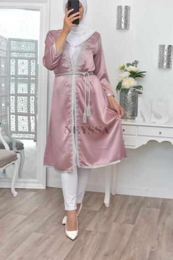 Tunique Tétouane Caftan création blush