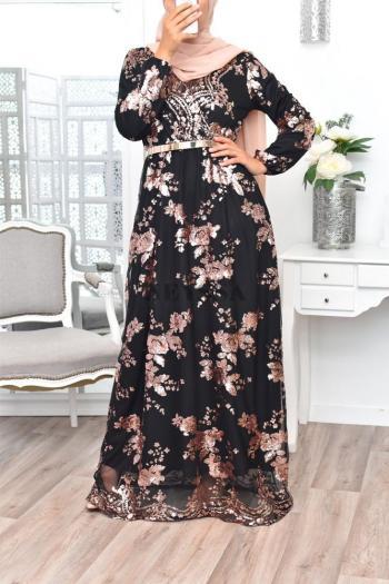 robe soirée musulmane pas cher