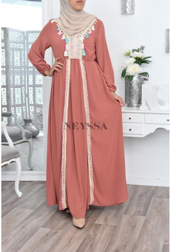 Robe Ethnique mode modeste