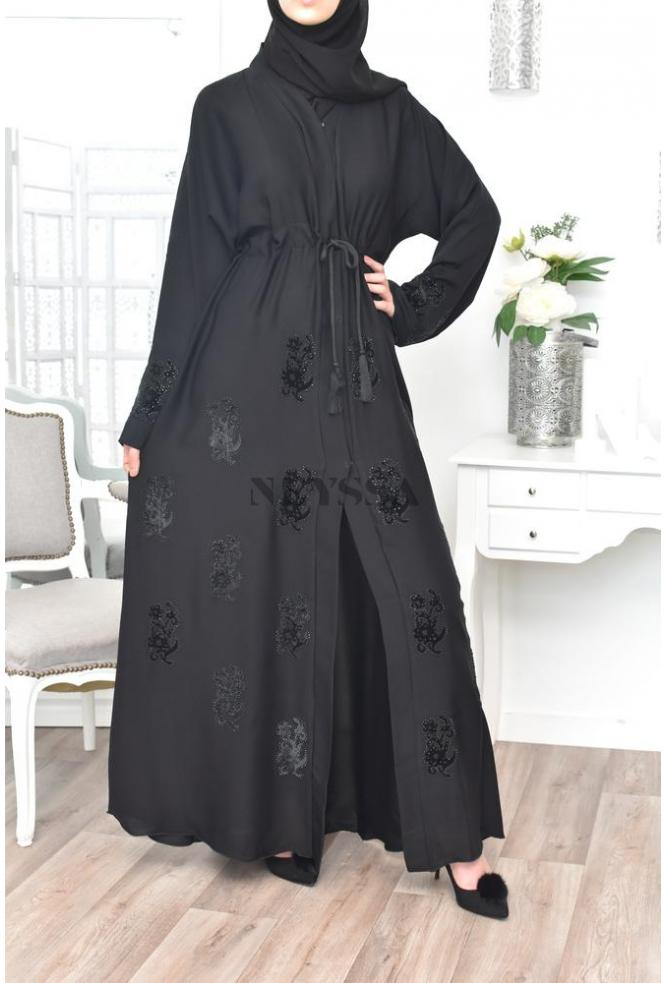 """Kimono """"Dubaï Umbrella"""" Black"""