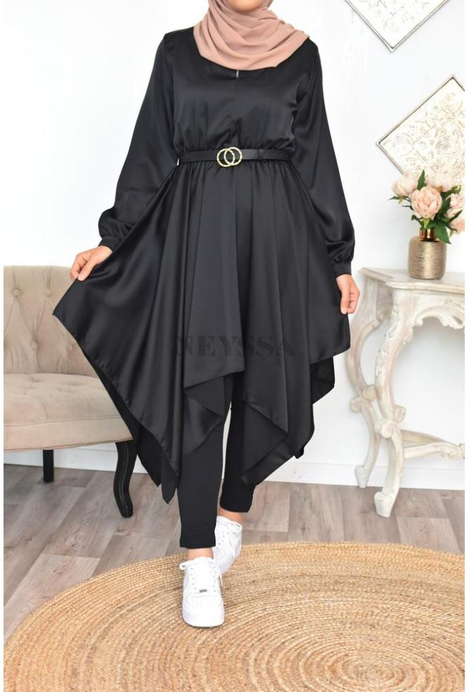 robe tunique évasée modest