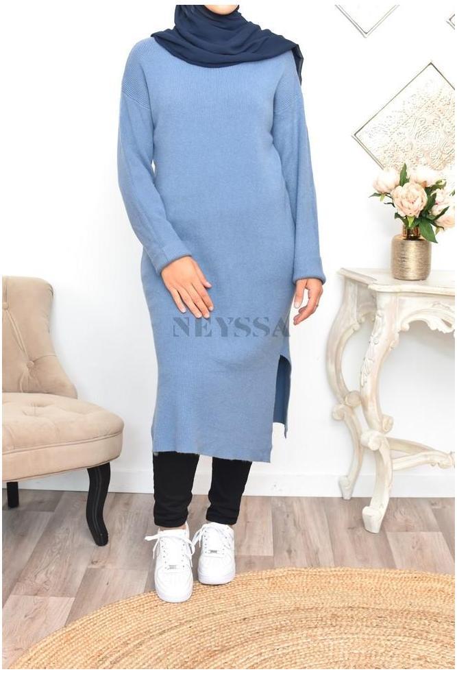 Tunic dress wool Razel