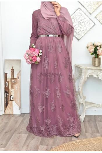robe fête musulmane demoiselle