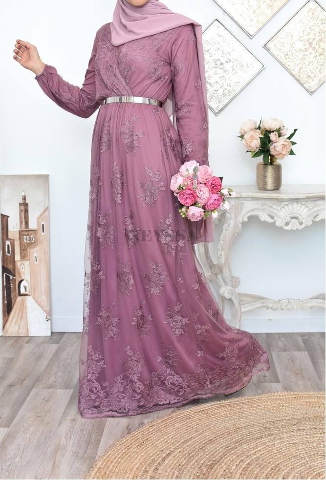 """Maxi Dress """"Bianca"""" purpl"""