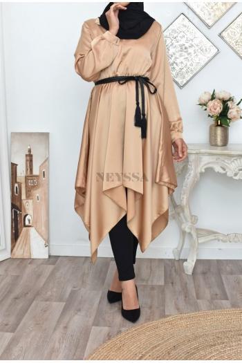 robe tunique évasée Saphora