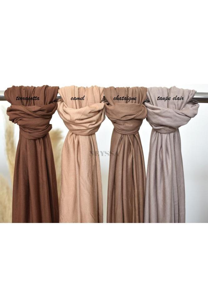 hijab en jersey de viscose