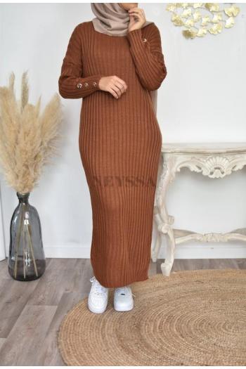 Robe pull musulmane