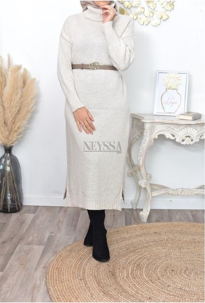 Dress wool Lylia