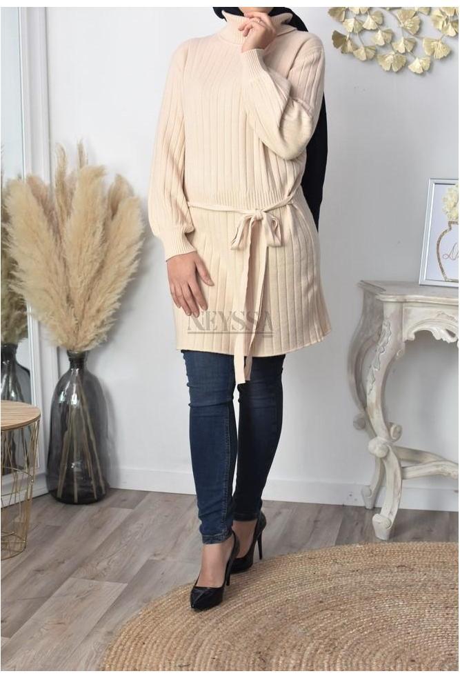 Dress wool Suraya modest fashion