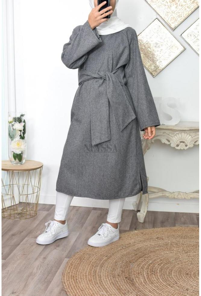 Dress wool muslima styl