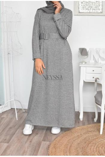 wool dress modest fashion