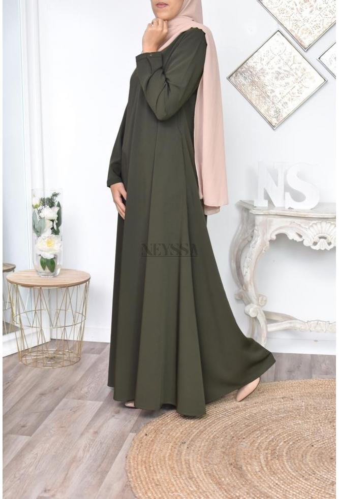Abaya umbrella muslima dress