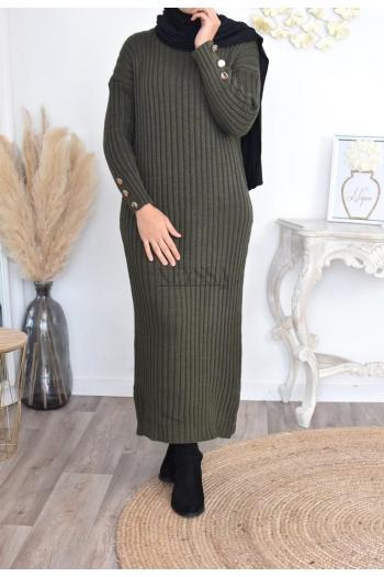 muslim wool dress