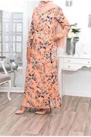 Robe Fleurie modest