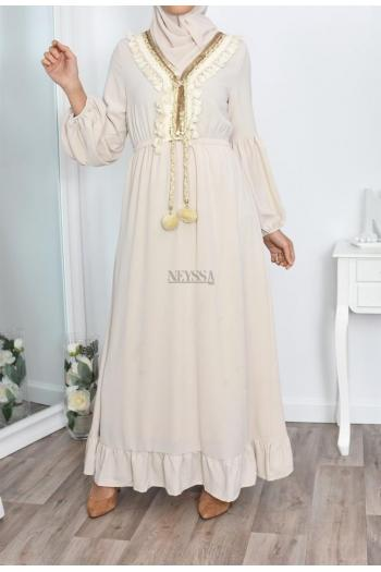 Robe Basma robe musulmane pas cher