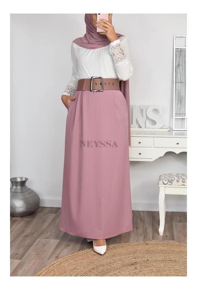 Jupe droite Miya modest skirt
