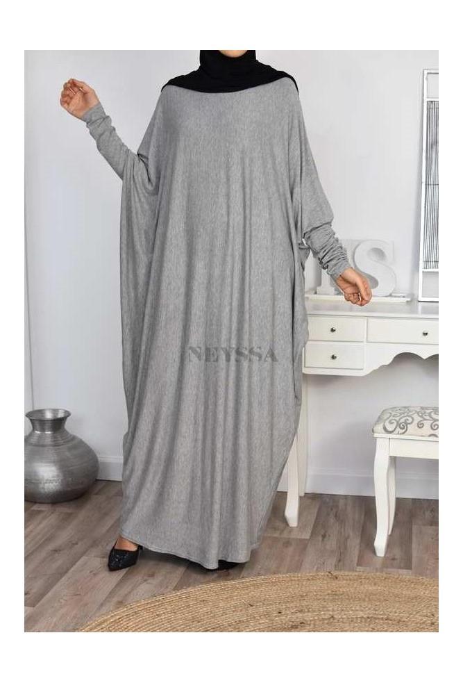 Abaya papillon ample femme musulmane