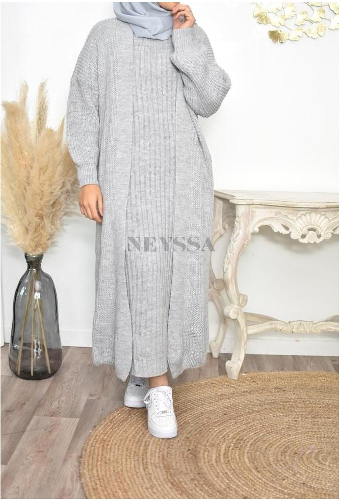 Ensemble tricot pas cher femme musulmane