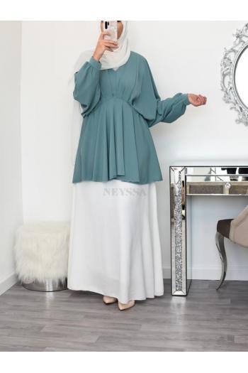 Tunique drapée hijabi