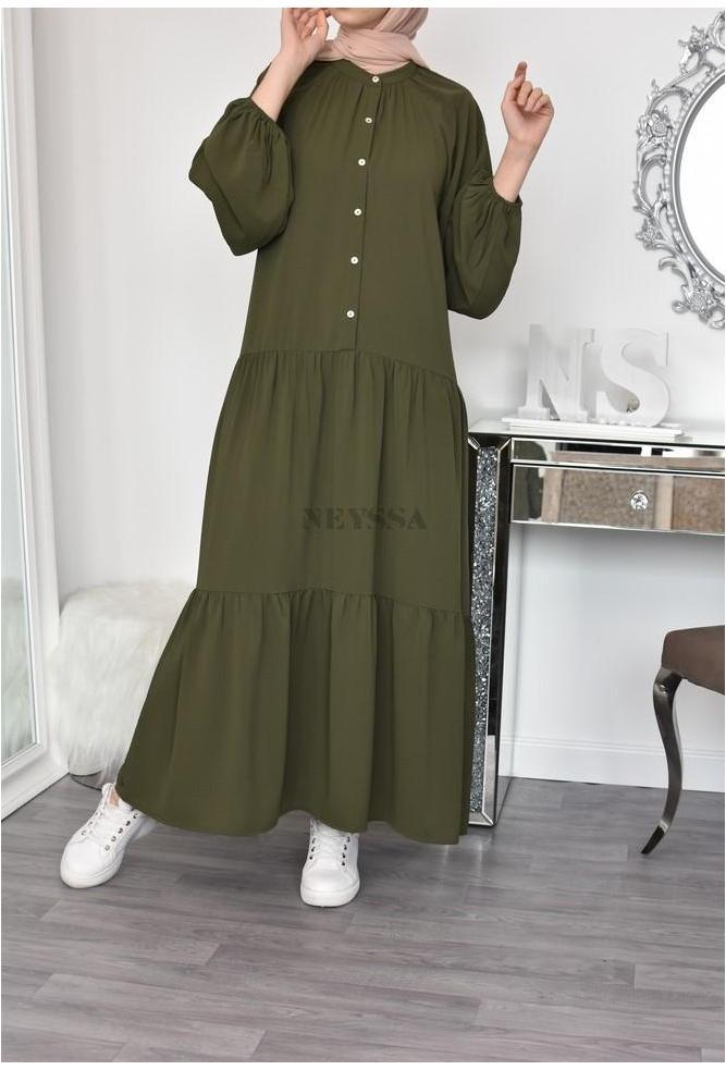 Flared Sania dress