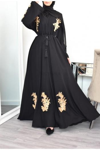 "Kimono ""Dubaï Umbrella"" Gold"