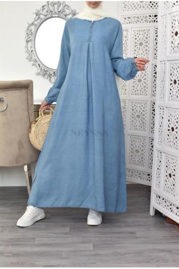 abaya jean's coton