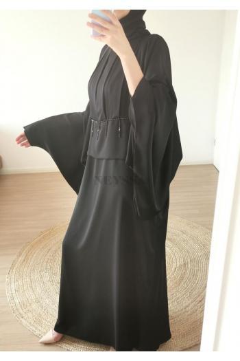 Abaya dubaï Sakyna Black