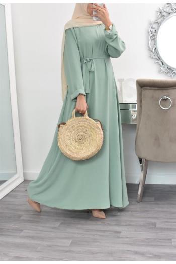 Abaya longue évasée été