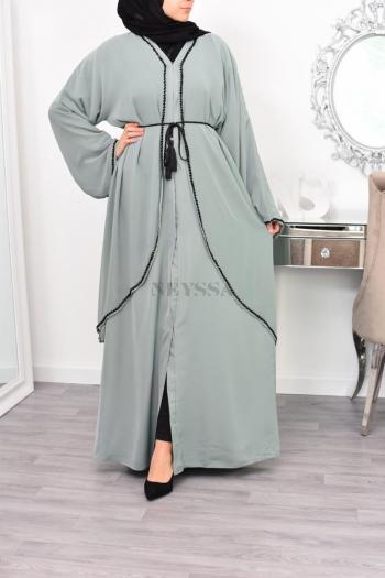 Abaya Dubai 2en1 Ikrâam